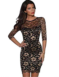 Women's Dresses , Lace Casual Maxlove