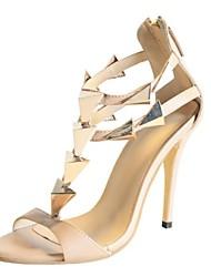 bc Frauen Pfennigabsatz Sandalen