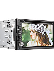 6.2Inch Universal 2 Din In-Dash Car DVD Player with GPS,BT,RDS,Touch Screen