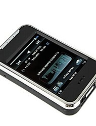 2.8 Inch Touch Screen MP5 Player FM/Camera/Voice Recorder 4GB
