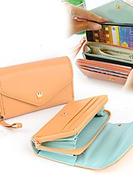 Frauen-Hot-Multifunktions Frauen Geldbörse Geldbörsen-Geldbeutel-Münzen-Kasten für iphone / Galaxy iphone 4/5