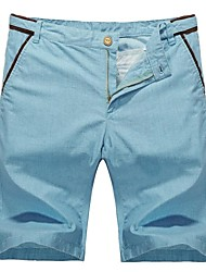 de los hombres ropa de moda cortocircuitos delgados