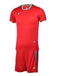les maillots de football à manches courtes pour hommes (rouge et portugal)