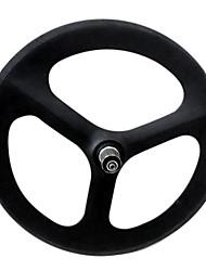 """50mm Yanbo 20 BMX """"de carbono de 3 rayos wheelset del remachador de la rueda la bici del camino / trasero (1 pieza)"""