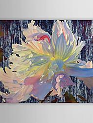 iarts®hand роспись маслом цветочная вода лилии с протянутой кадр