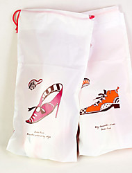 Travelling Plastic Shoe Bags Pack of 2