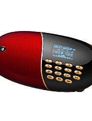 Soopen Q18 Mini Soporte portátil de altavoces TF / FM