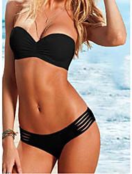 Bateau Cut-Out Bikini VQ00167 de Vênus Rainha Mulheres