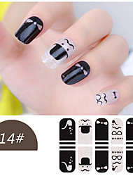 DF COLOR Manicura Suministros Nail Sticker Manicura Calcomanías (Z014)