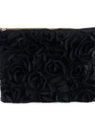 Frauen Korea stilvolle beiläufige Lace Rose Pattern Clutch Handtasche