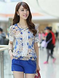 Damenmode Print Shirt (Shirt & Hose)