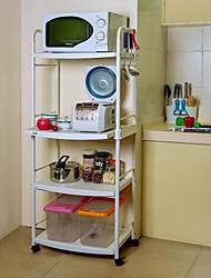 ByN 4-tier DIY móvel Cozinha Trolley