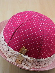 Bonito redondo do laço de Fisher Chapéu da menina