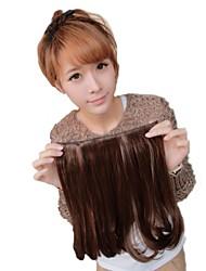 Lunga clip in alta qualità sintetico capelli ricci Extension tre colori disponibili