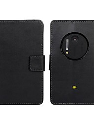 Solid Color PU Leather Full Body Case with Card Slot for Nokia Lumia 1020