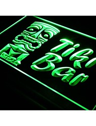 i298 Tiki Bar Mask Bar Club luce al neon segno