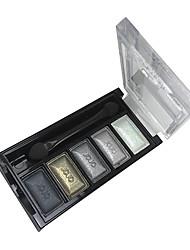 5 colores de maquillaje paleta de sombra (J034-07)