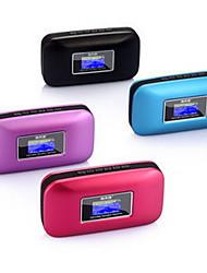 Soopen Q8-2012 Mini Soporte portátil de altavoces TF / FM