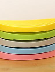 Silica Gel Draining Lovely Soap Box(Random Color)
