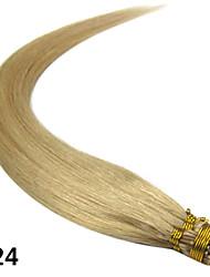 16inch-Stick / i gekippt gerade Fusion Haarverlängerungen mehr helle Farben 100s / pake 0,4 g / s