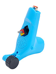 Azul Tattoo Machine Gun para forro e Shader de corte de fio