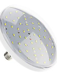 18W E26/E27 LED Ceiling Lights 48 SMD 5730 1500-1700 lm Cool White Decorative AC 220-240 V