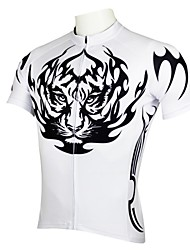 ILPALADINO Cycling Jersey Men's Short Sleeves Bike Jersey Tops Quick Dry Ultraviolet Resistant Breathable 100% Polyester Classic Cartoon