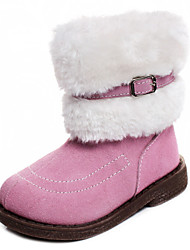 Chaussures bébé - Rose - Habillé / Décontracté - Cuir - Bottes