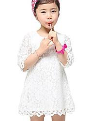 Belle lacet de la fille Robes de princesse