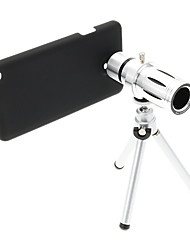 Zoom 12X Telephoto Metal Cellphone Lens with Tripod for Samsung Note3