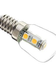 1W E14 Ampoules Maïs LED T 7 SMD 5050 60-70 lm Blanc Chaud Décorative AC 100-240 V