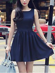 Women's Dresses , Chiffon Casual Miss A