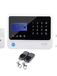 GSM Touch Keypad Alarm System with Home Automation GS-G90E