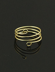 Shixin® European Simple Handmade Three Circles Women's  Alloy Statement Rings(More Color)(1 Pc)