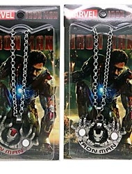 Iron Man Necklace Movie Cosplay Accessory