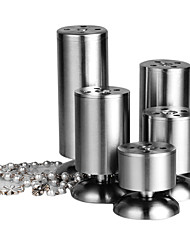 120mm Stainless Cylindrical Table Leg(Up Regulation 15mm)