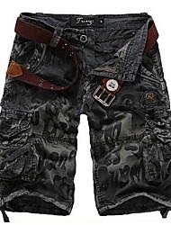 Loose Fit debe hommes mi-longueur Pantalons