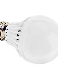 E27 A60 7W 550LM 30x2835SMD CRI> 80 6500K Cool White Light LED Bulb Globe (220-240V)