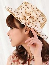 Женская мода Сельские шифон Цветочные Cloche Ха