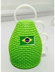 2014 Copa do Mundo Caxirola fãs comemoram Props (verde)