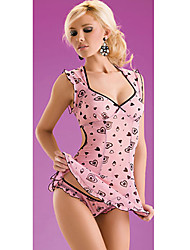 Darling Clothes Women's Sexy Floral Print Lingerie