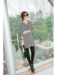Maternity Stripe Big Pendulum Pregnant  Dress