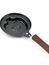 Apple en forma de hierro Tortilla Pan con cubierta, L12cm x W12cm x H26cm