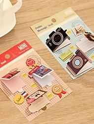 Mini Greeting Card (Random Color)