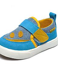 Garçon / Fille-Décontracté-Marine-Talon Plat-Confort-Sneakers-Toile / Laine synthétique