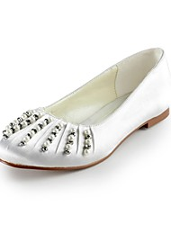 Women's Wedding Shoes Closed Toe Flats Wedding/Party & Evening Black/Blue/Yellow/Pink/Purple/Red/Ivory/White/Silver/Gold/Champagne