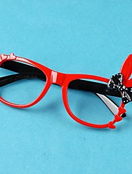 Children's Cute Chic Cartoon Kid Girls Rabbit Ear Bowknot Glasses Spectacle Frame