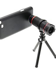 Увеличить 4-12X телефото Металл мобильного телефона объектива с треногой для Samsung Примечание2