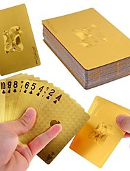 24K Gold Foil Poker Playing Cards