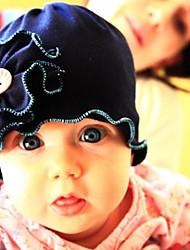 Fleur de coton Beanie Chapeau de soleil pour enfants